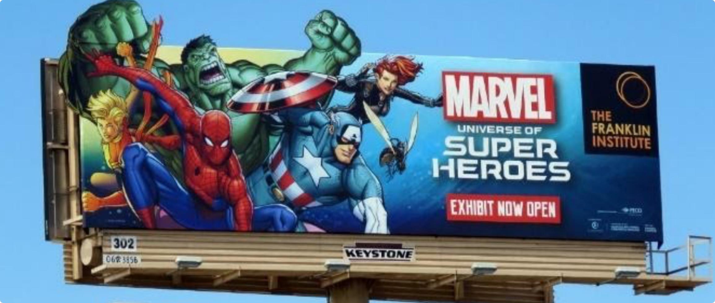 Marvel Billboard